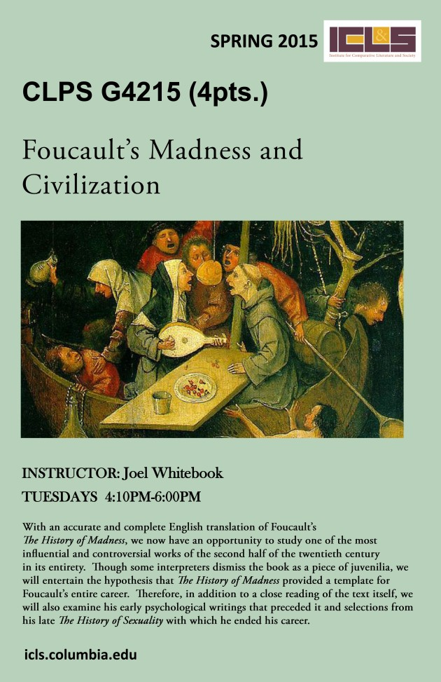 Spring 15 Foucault's Madness and Civilization.jpg